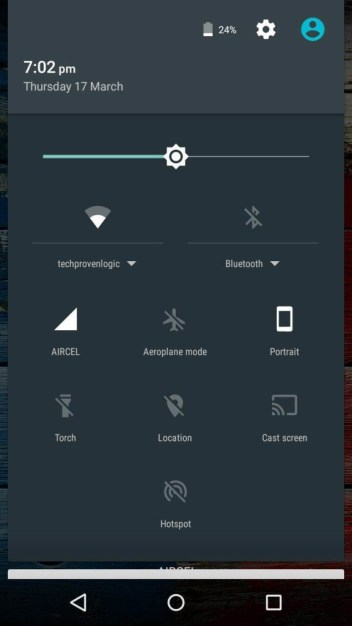 disable wifi on Moto X