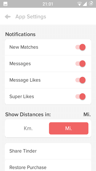 How to use Tinder? - a pictorial guide on how Tinder works.