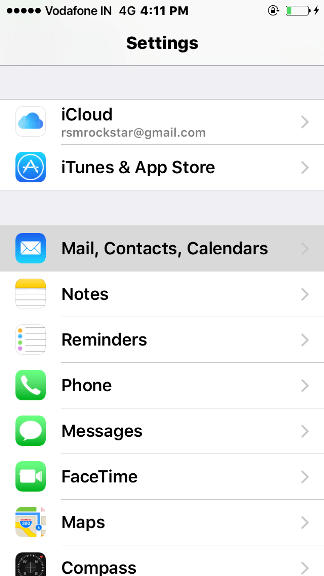 how to import contacts from sim to iphone