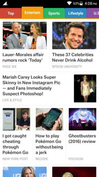 How to use SmartNews app