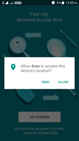 How to use Google Areo app?
