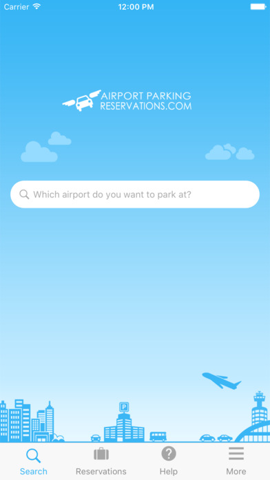 How to use airportparkingreservations app?