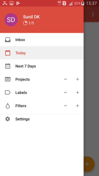 Todoist Features