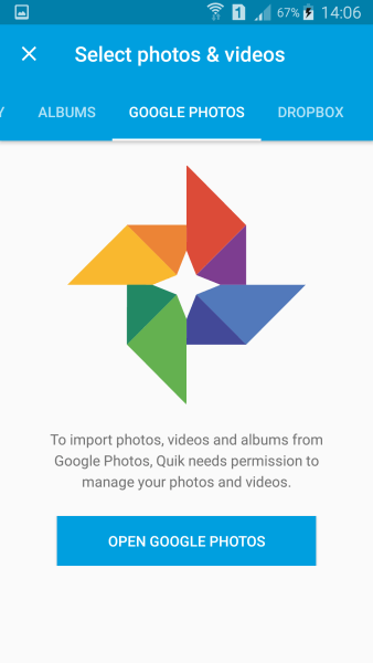 Quik Google Photos