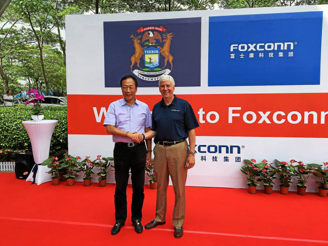 Foxconn To Build A Self-Driving Facility In Michigan