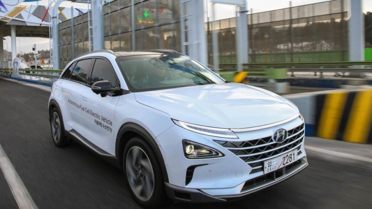 A Record Trip Completed By Hyundai's Self Driving Fuel Cell Cars