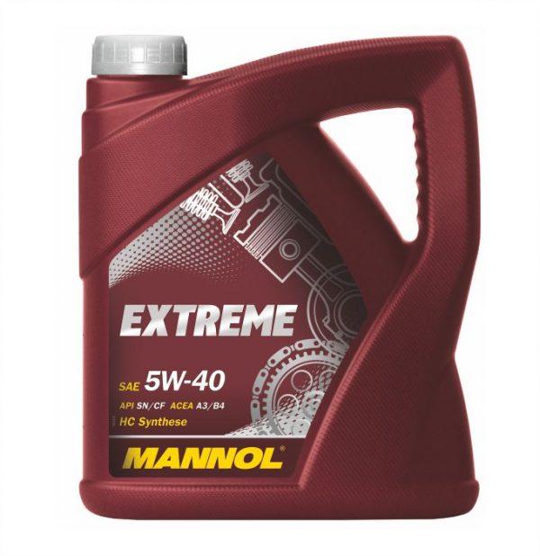 Mannol Extreme 5w40 5 Liter voor €23,-