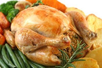 Elegant Roast Chicken Dinner