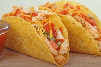 Fast Chicken Tacos