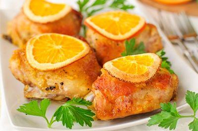 Clay Pot Orange Chicken Thighs