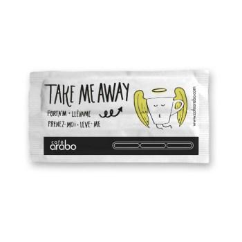 Azúcar con paletina Take me away! Café Arabo
