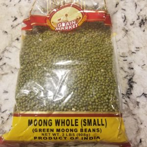 raw whole mung beans