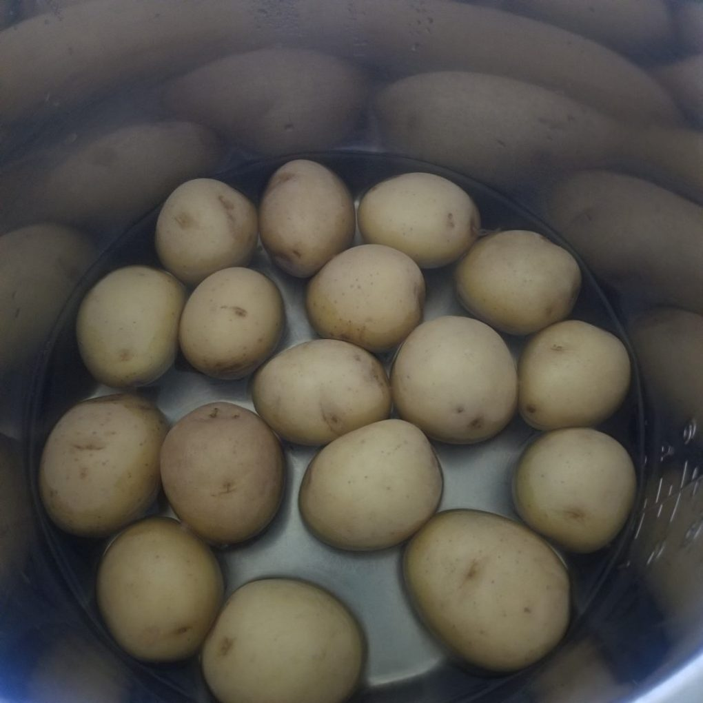 boil potatoes