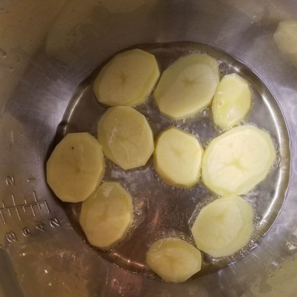 potato to instant pot