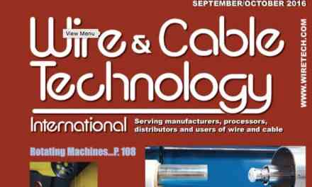 Wire & Cable Technology International, September/October 2016