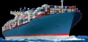 Ocean shipping ship