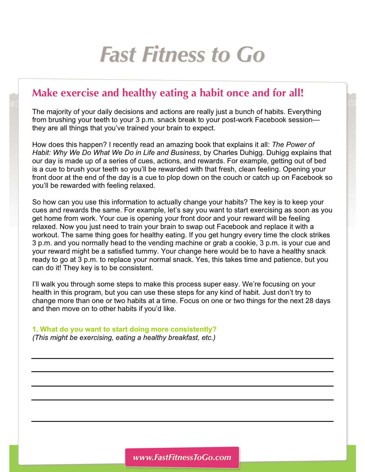 Total Body Workouts Fast Fitness To Go