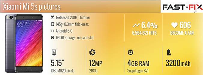 Ремонт Xiaomi Mi5