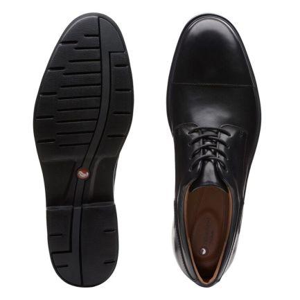 Un Tailor Cap Black Leather