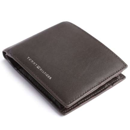 TH Metro Wallet leather dark brown