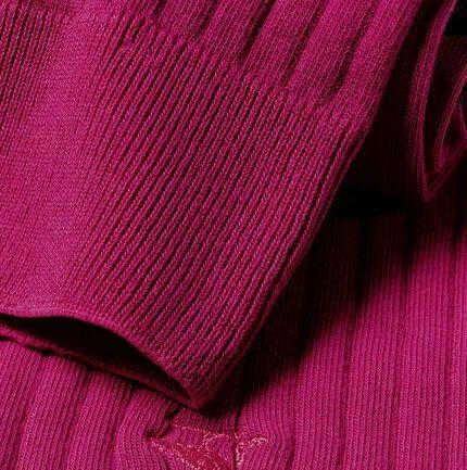 Cotton Rib Socks - Pink