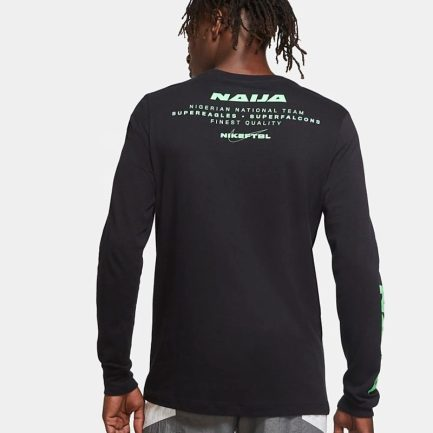 Men's Long-Sleeve Football T-Shirt