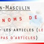 Les noms de pays féminin et masculin