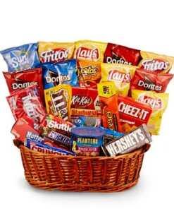 Junk Food Gift Basket Snacks