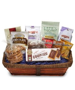 Gift Basket Filled With Cookies