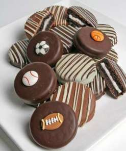 12 Sports Belgian Chocolate Covered Oreos
