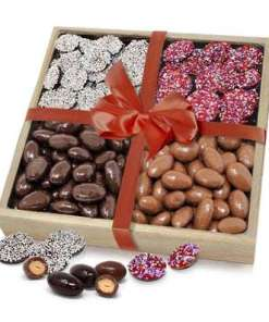 Valentine's Day Almond and Nonpareils Gift Tray