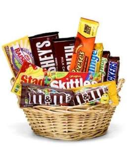 Los Angeles Delivery Candy Junk Food Snack Gift Basket