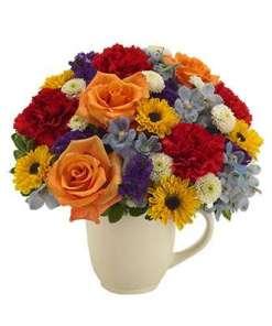 Floral Celebration Garden Bouquet