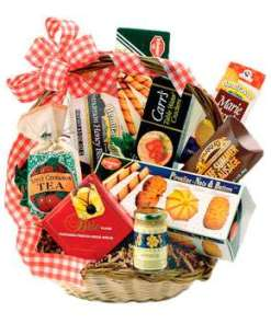 Gourmet Goodies Birthday Basket