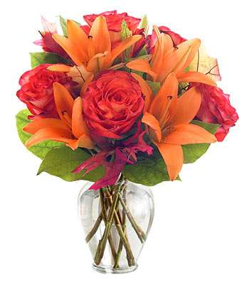 Orange Sorbet Flower Bouquet