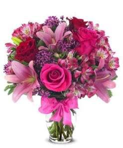 Rose & Lily Celebration Bouquet