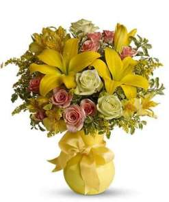 Sunny Smiles Flower Bouquet