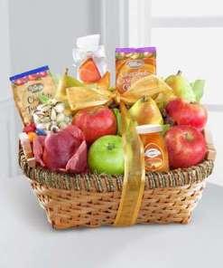 Fruit & Gourmet Kosher Gift Basket 69.99