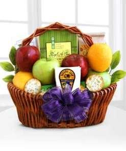 Fruitful Greetings Gourmet Gift Basket 64.99