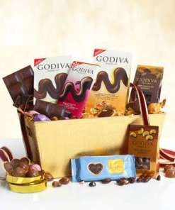 Godiva Milk Chocolate Expressions Basket 79.99