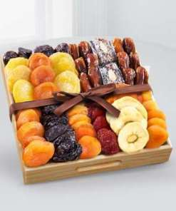 Kosher Gourmet Dried Fruit Tray 44.99