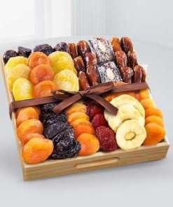 Kosher Gourmet Dried Fruit Tray 44.99