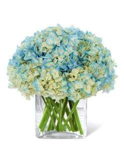 Blue Moon Flower Bouquet