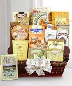 Caring Condolence Sympathy Gift Basket