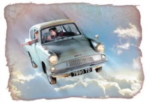 Harry Potter Flying Anglia