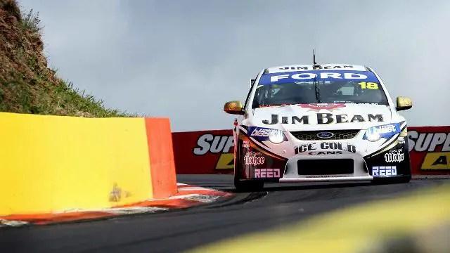 James Courtney racing at Bathurst