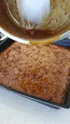 Boiling Toffee Mixture