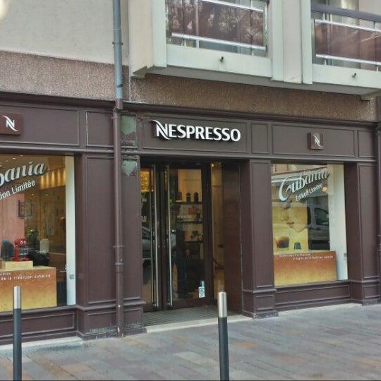 boutique nespresso mulhouse coffee shop