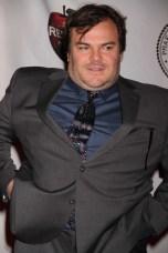 JACK BLACK at the Friars Club honoring Jack Black at NY Hilton 4 5 2013 John Barrett/Globe Photo 2013