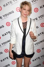 MICHELLE WILLIAMS Target and Kate Young host a private shopping event in celebration of Kate Young for target,before the collection launches in stores and online on april 14 at old school 231 mott st 4 9 2013 Photo by John Barrett/Globe Photo